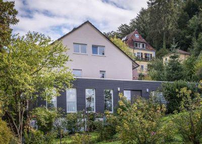 Erne Vogel Hug Architekten aus Freiburg Ebnet Anbau Mehrfamilienwohnhaus in Herdern
